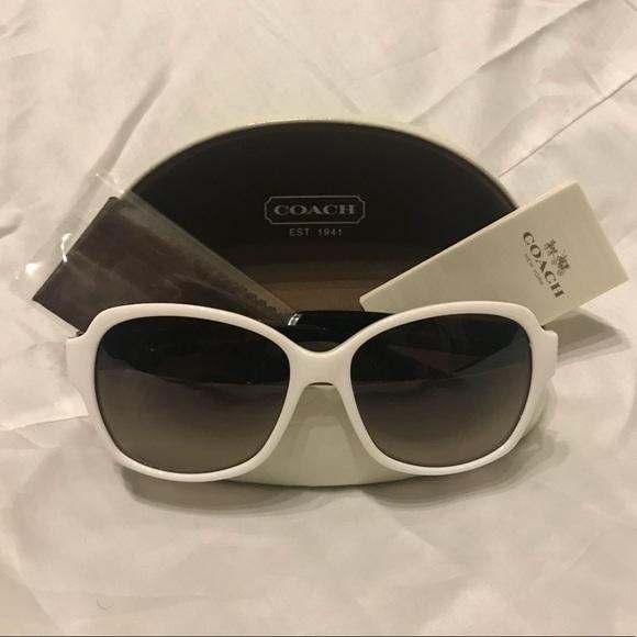 d6f94494c79e Coach Accessories | White Black Sunglasses Brand New | Poshmark